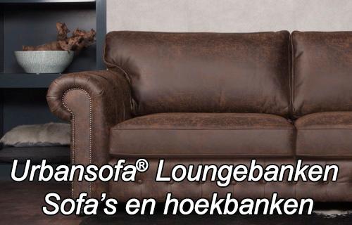 UrbanSofa sofas loungebanken hoekbanken bij Singel Meubelen Purmerend