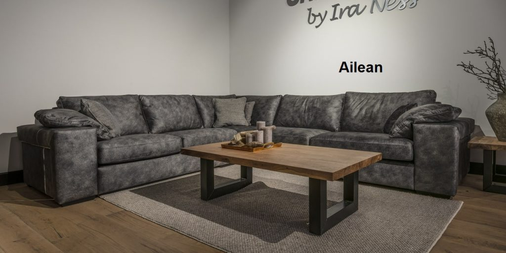 UrbanSofa Ailean casia loungebank sofa of hoekbank