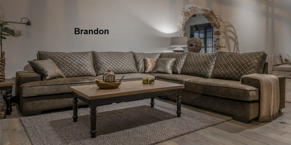 UrbanSofa Brandon sofa loungebank of hoekbank