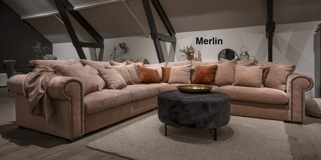 UrbanSofa Merlin Sofa Loungebank of Hoekbank