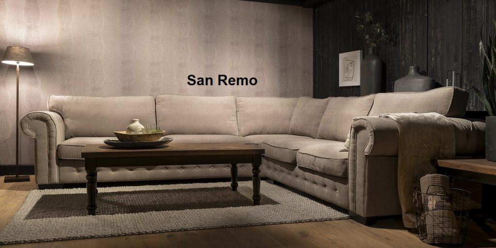 UrbanSofa San Remo Sofa Loungebank of Hoekbank