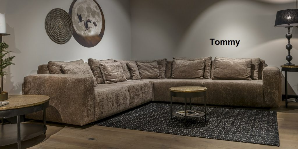 Urbansofa Tommy Sofa Loungebank of Hoekbank